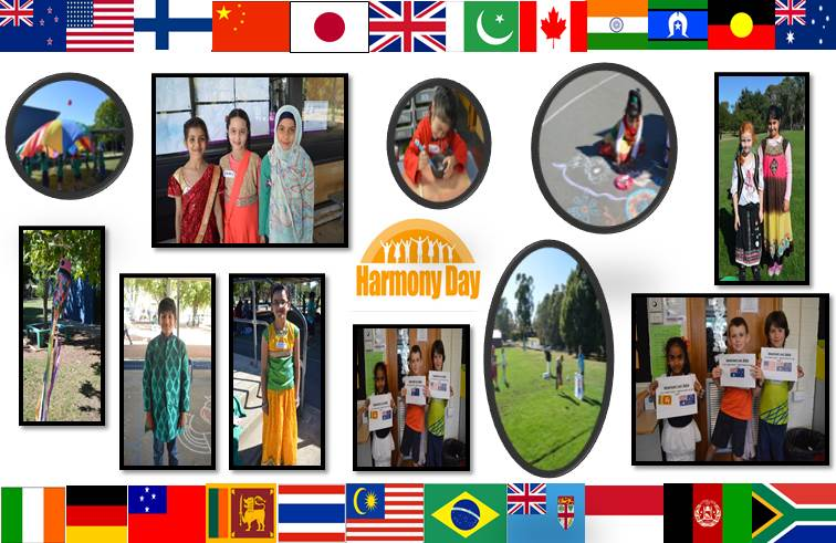 Harmony day collage